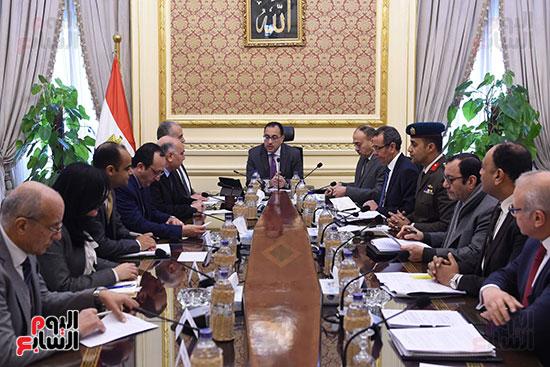 رئيس الوزراء يتابع أخر تطورات ملف سد النهضة (4)