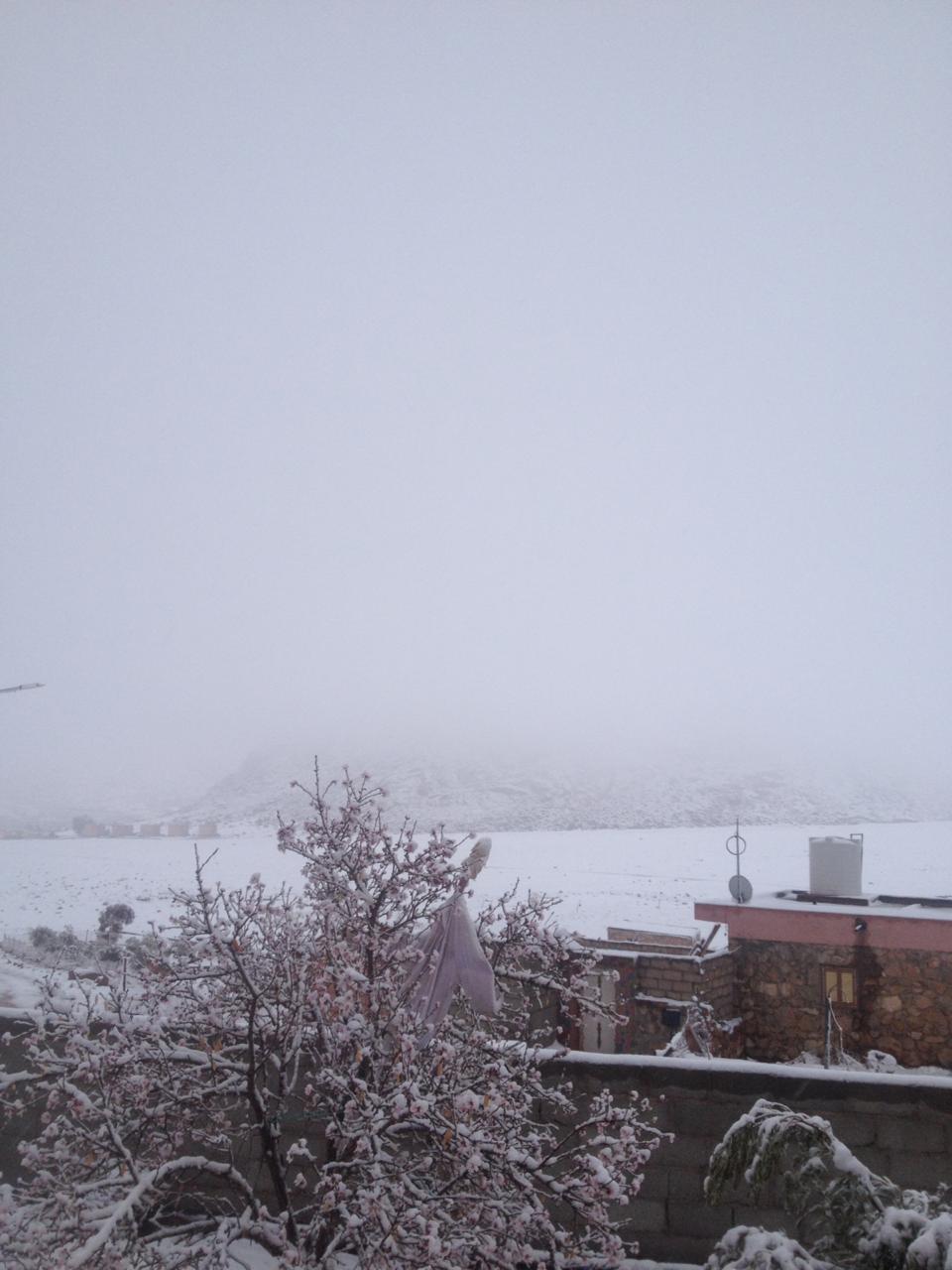 جبال سانت كاترين تتزين بالثلوج (1)
