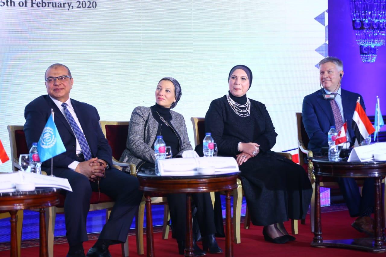 احتفال منظمة العمل الدولية بانتهاء مشروع وظائف لائقة للشباب في مصر (2)