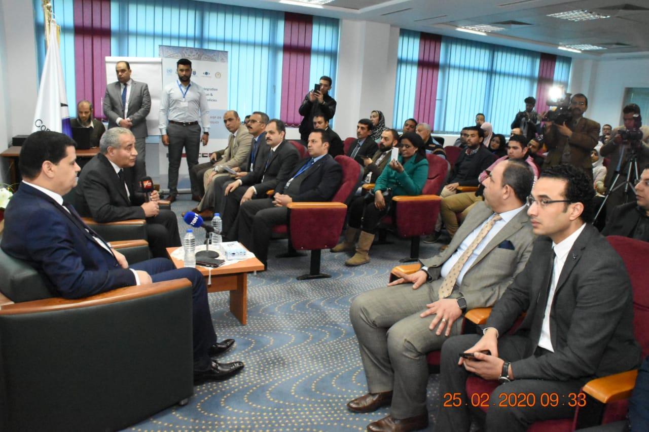 زيارة وزير التموين لمقر جهاز حماية المستهلك بالقرية الذكية (2)