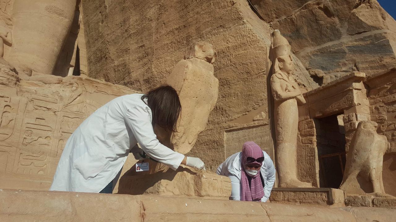 الآثار تنتهى من أعمال تطوير وترميم بمعبد أبوسمبل (2)