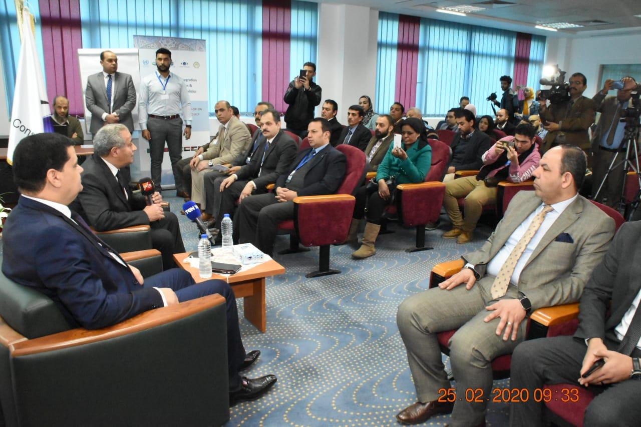 زيارة وزير التموين لمقر جهاز حماية المستهلك بالقرية الذكية (4)