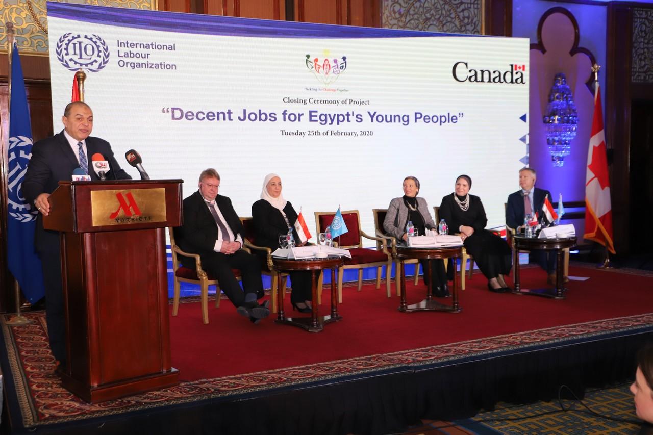 فعاليات مشروع وظائف لائقة لشباب مصر  (17)
