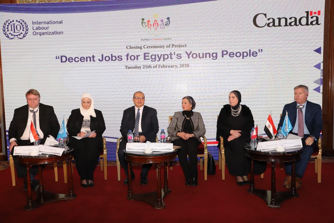 فعاليات مشروع وظائف لائقة لشباب مصر  (7)