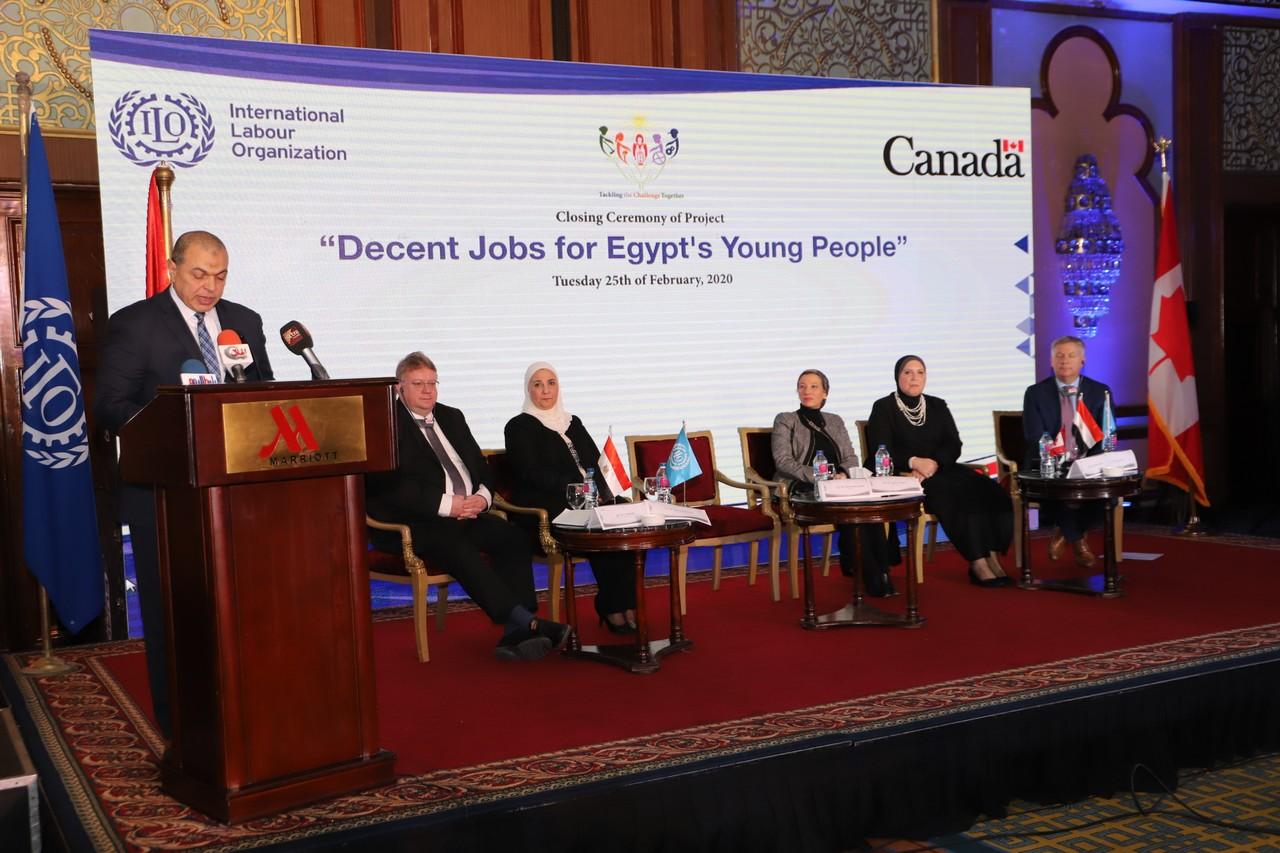 فعاليات مشروع وظائف لائقة لشباب مصر  (12)