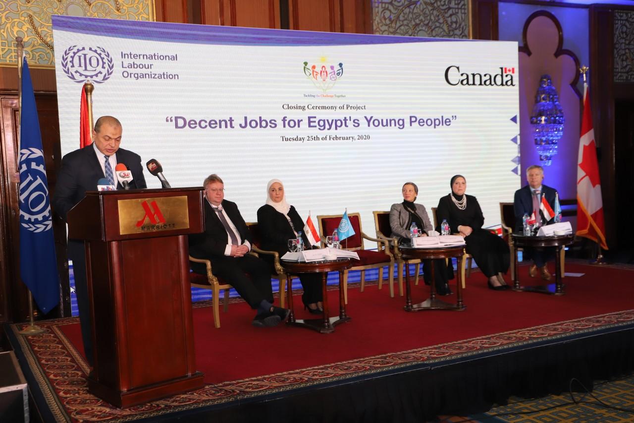 فعاليات مشروع وظائف لائقة لشباب مصر  (11)