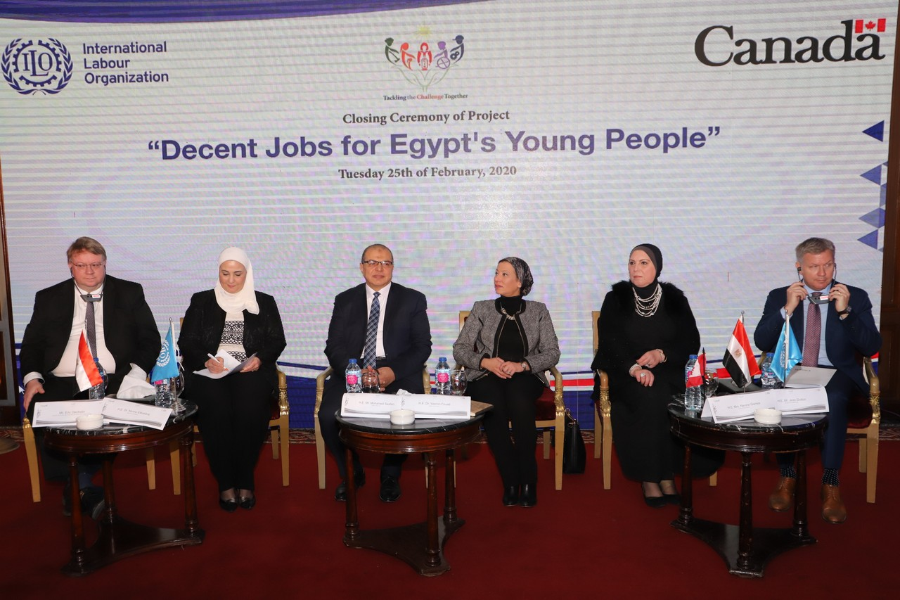 فعاليات مشروع وظائف لائقة لشباب مصر  (6)