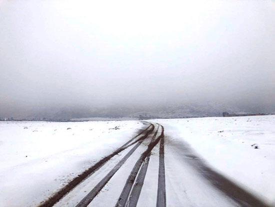 الثلوج تغطى مدينة سانت كاترين (17)