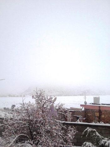 الثلوج-تغطى-جبل-سانت-كاترين