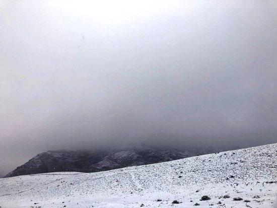 الثلوج تغطى مدينة سانت كاترين (16)