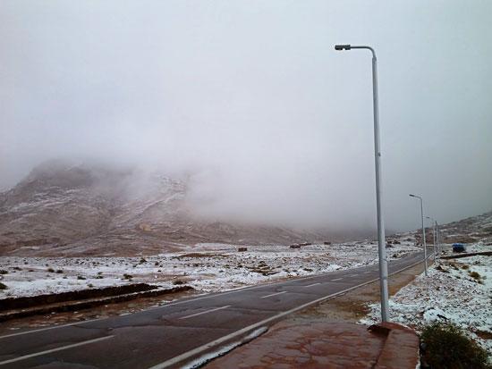 الثلوج تغطى مدينة سانت كاترين (12)