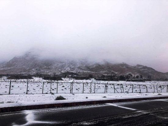 الثلوج تغطى مدينة سانت كاترين (18)