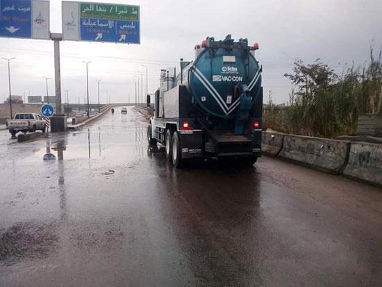 الامطار-على-الطرق-السريعة-بالقليوبية