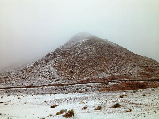 الثلوج تغطى مدينة سانت كاترين (9)