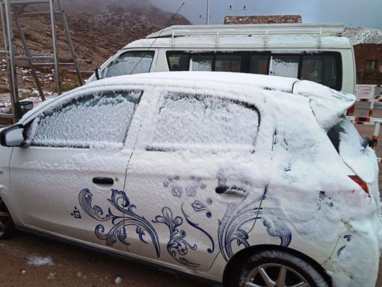 الثلوج تغطى مدينة سانت كاترين (15)