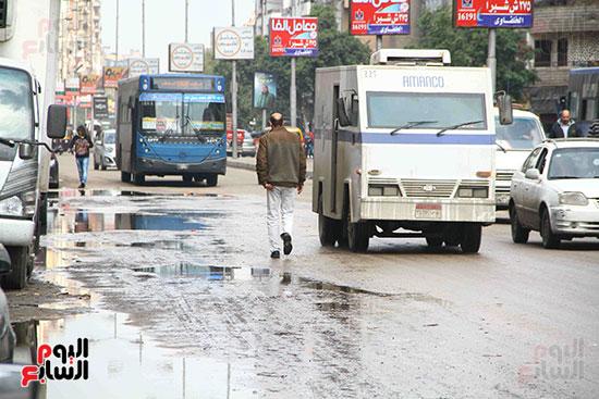اثار مياه الأمطار فى الشوارع (3)