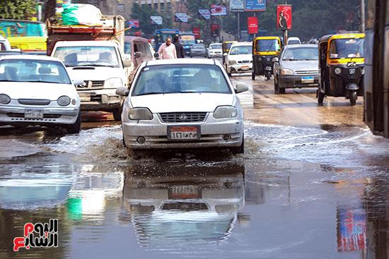 اثار مياه الأمطار