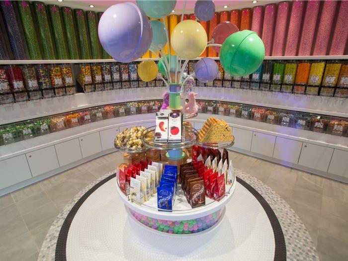 محل الحلوى