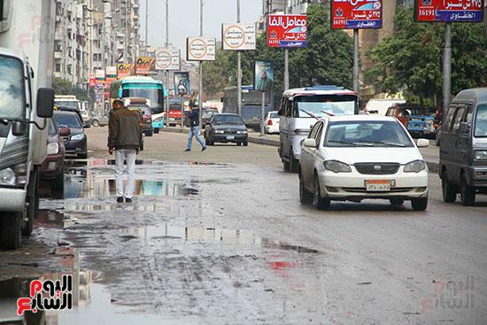 اثار مياه الأمطار فى الشوارع (4)