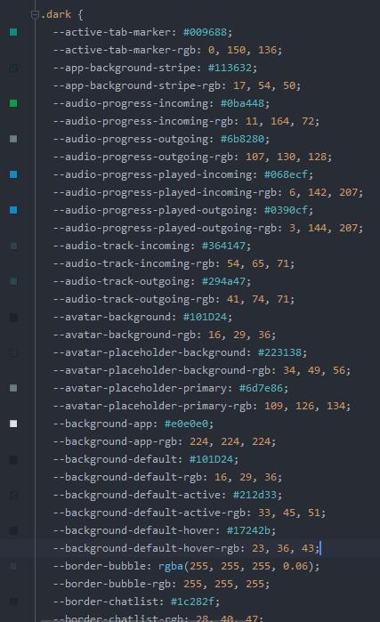 WhatsApp-desktop-dark-theme-code