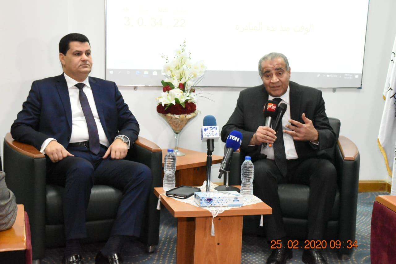 زيارة وزير التموين لمقر جهاز حماية المستهلك بالقرية الذكية (5)