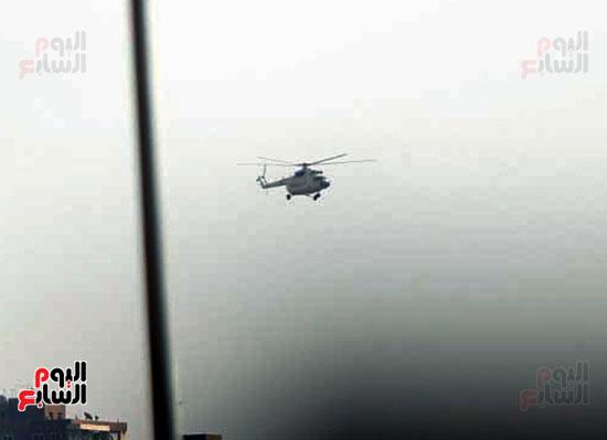 طائرة جثمان الرئيس الأسبق مبارك (7)
