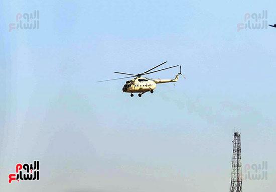 طائرة جثمان الرئيس الأسبق مبارك (5)