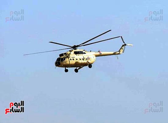 طائرة جثمان الرئيس الأسبق مبارك (10)