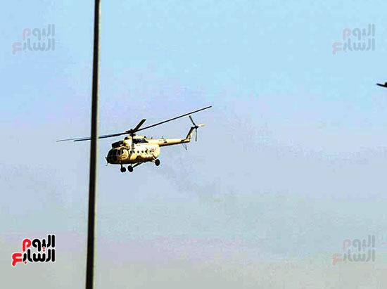 طائرة جثمان الرئيس الأسبق مبارك (2)