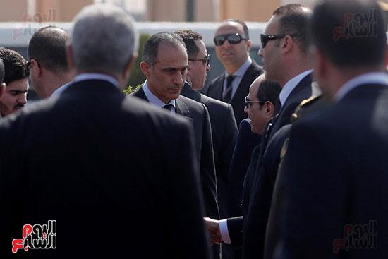 الجنازة العسكرية للرئيس الأسبق (5)