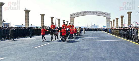 الجنازة العسكرية لتشييع جثمان مبارك (2)