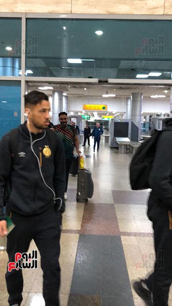 الترجى التونسى يصل القاهرة  (18)