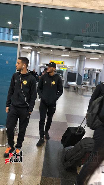 الترجى التونسى يصل القاهرة  (16)