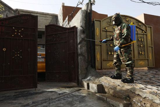 مكافحة العدوى فى العراق