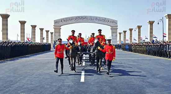 الجنازة العسكرية لتشييع جثمان مبارك