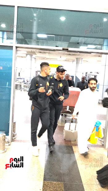 الترجى التونسى يصل القاهرة  (9)