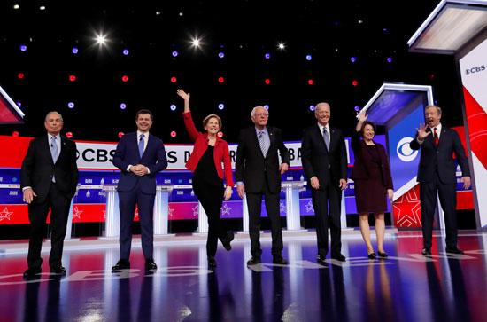 المرشحون الديمقراطيون لرئاسة أمريكا