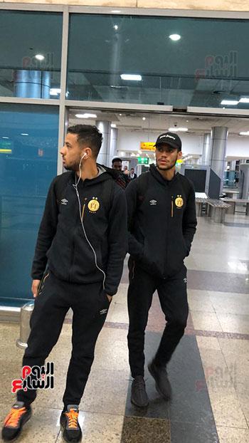 الترجى التونسى يصل القاهرة  (15)