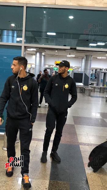 الترجى التونسى يصل القاهرة  (14)