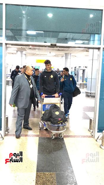 الترجى التونسى يصل القاهرة  (21)