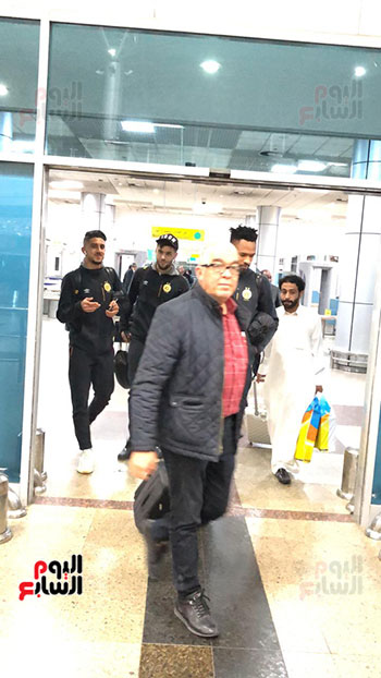 الترجى التونسى يصل القاهرة  (5)