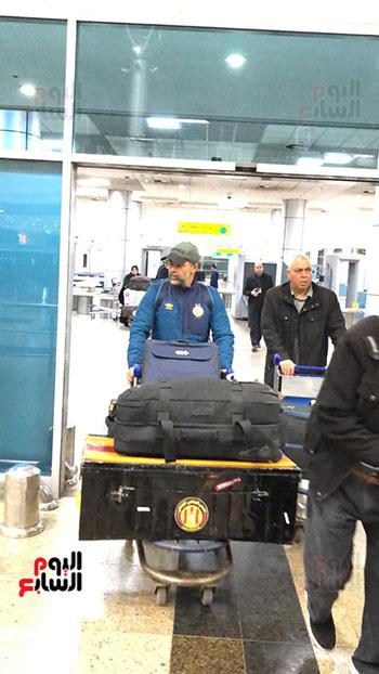 الترجى التونسى يصل القاهرة  (10)