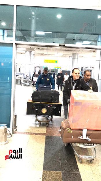 الترجى التونسى يصل القاهرة  (12)