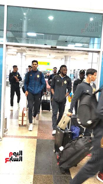 الترجى التونسى يصل القاهرة  (2)