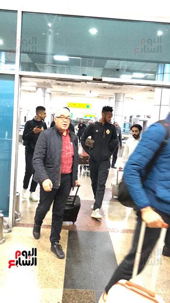 الترجى التونسى يصل القاهرة  (4)