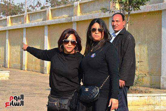 أحمد عز في جنازة مبارك (5)