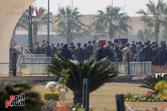 تشييع جثمان مبارك
