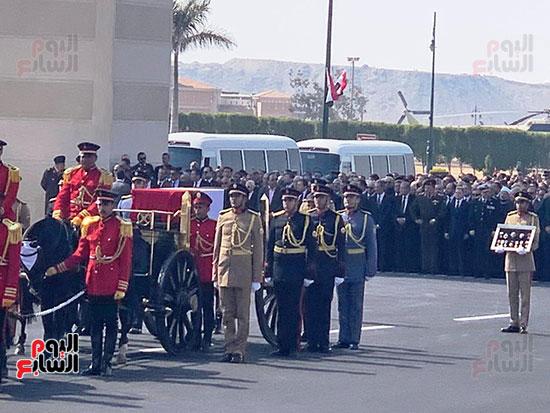 جنازة حسنى مبارك