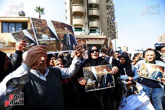 طائرة جثمان الرئيس الأسبق مبارك (11)