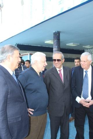 رئيس الزمالك  يستقبل وفد الترجى التونسي